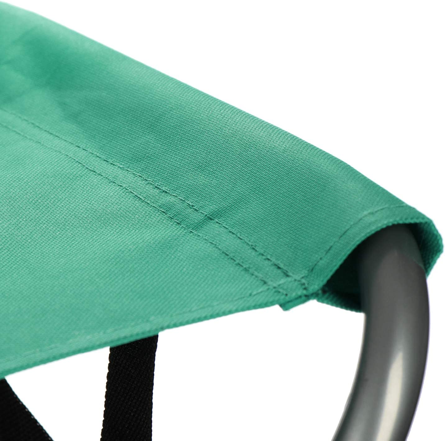 Verde Taburete Plegable port/átil Senderismo Picnic com-four/® Taburete de Camping Plegable Pescar Silla Plegable peque/ña para Acampar Playa