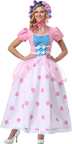 Woherren BO Peep Plus Größe Fancy Dress Costume 2X