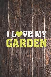 I Heart Love My Garden - Gardener Journal