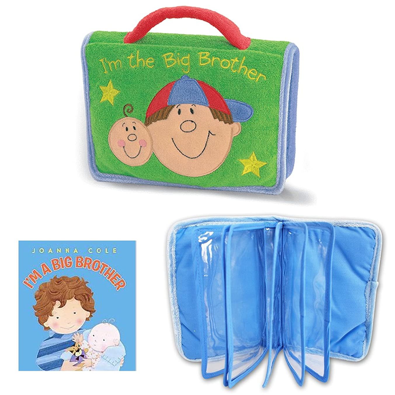 I'm a Big Brother Gift Bundle- Big Brother Photo Album & Big Brother Book