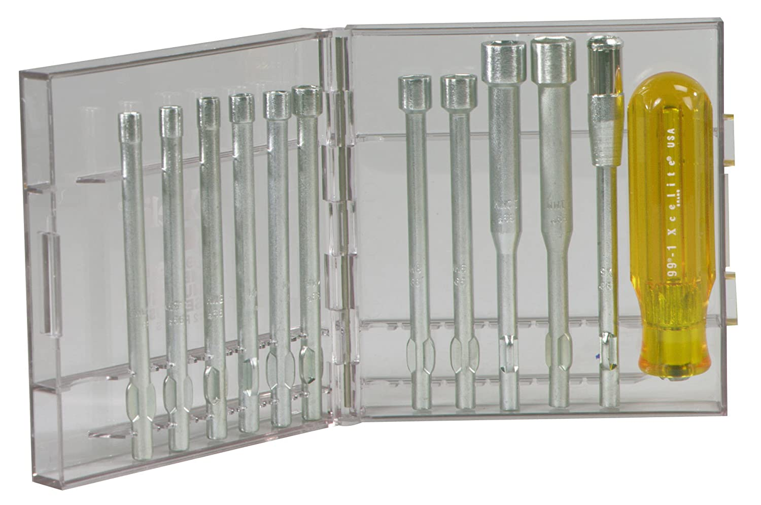 Limited time sale Xcelite 99PS51MM 12-Piece Sale special price Series Set Compact Nutdriver 99