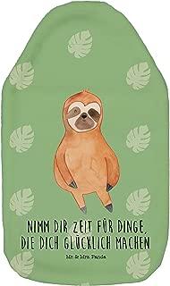 /& Mrs Farbe Wei/ß W/ärmflasche Hase Blume mit Spruch Kinderw/ärmflasche Panda W/ärmekissen Mr