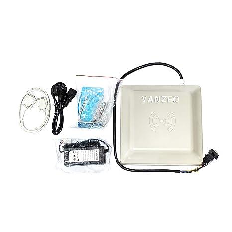 Yanzeo SR681 UHF RFID lector 6m de largo alcance al aire libre IP67 8dbi antena RS232/RS485/Wiegand salida UHF lector integrado