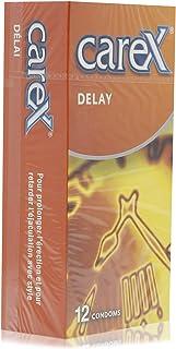 Carex Delay Condoms - 12 Pieces