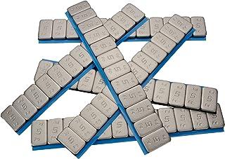 100 x Haskyy hjulvikter 12 x 5 g vikter 6,0 kg stålvikter 60 g med slitkant galvaniserad och plastbelagd