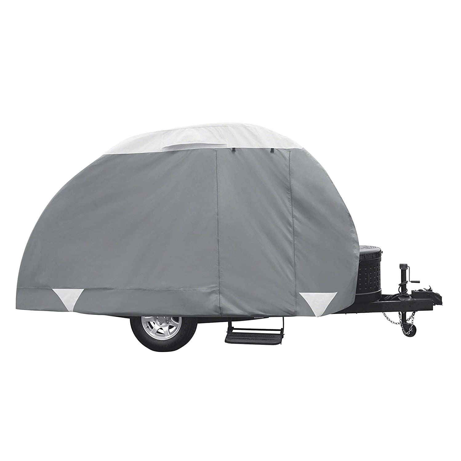 Classic Accessories PolyPro 3 Teardrop Camping Trailer Cover, Up To 96
