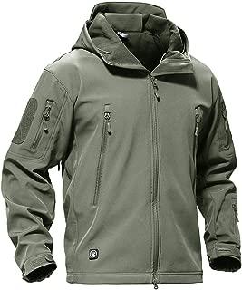 Winter Men Jacket Coat Jacket Waterproof Soft Shell Jackets Navy Hunt Clothes 4XL