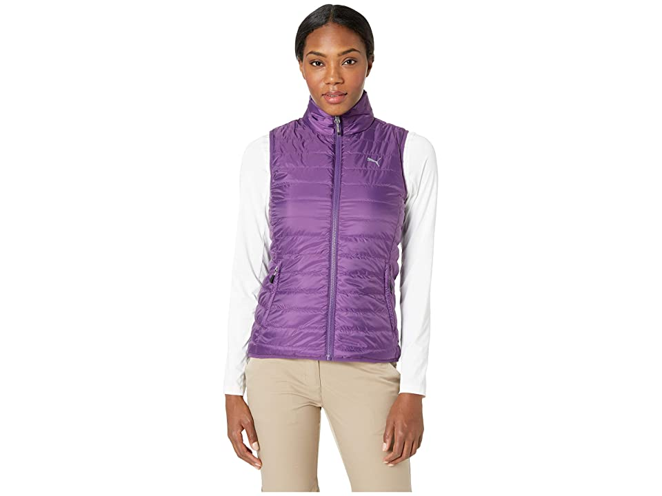 PUMA Golf PWRWARM Reversible Vest (Majesty) Women