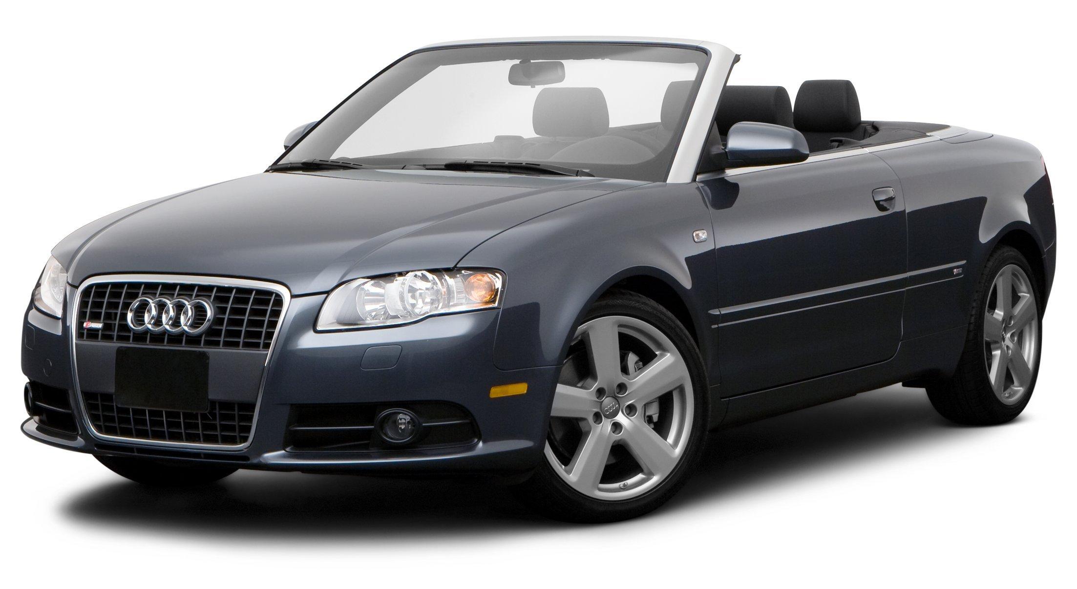 ... 2009 Audi A4 2.0T, 2-Door Cabriolet CVT FrontTrak *Limited Availability* ...