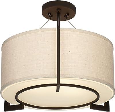 Colton Bronze Kichler Lighting 3629CTZ 2 Light Roxton Flush Mount Ceiling Light
