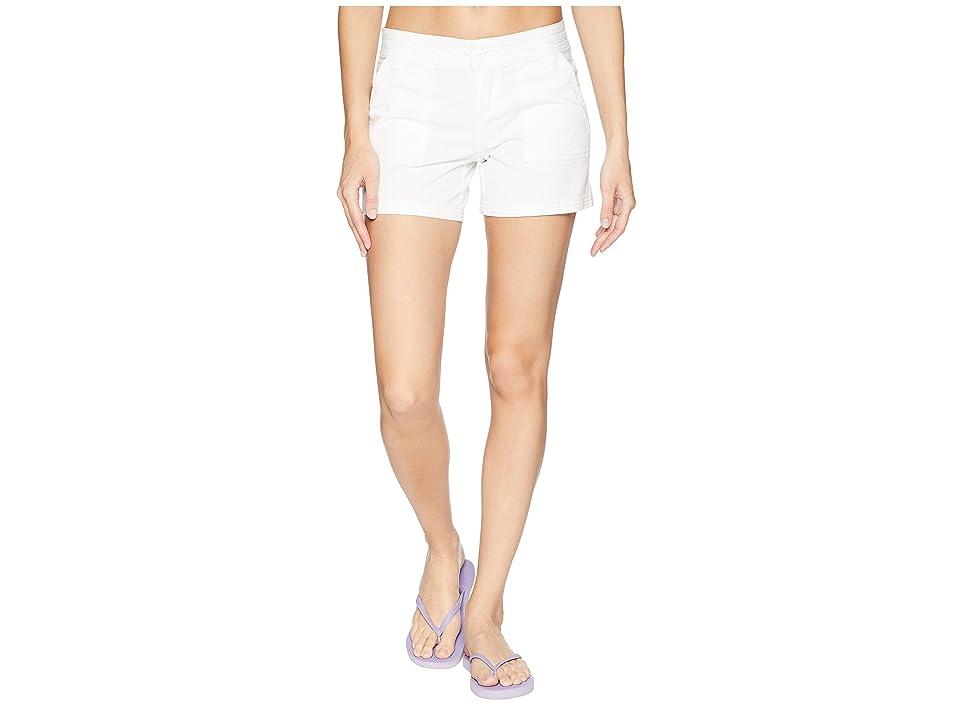 Prana Tess Shorts 5 (White) Women