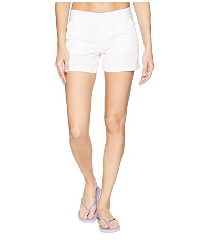 Prana Tess Shorts 5 (White) Women