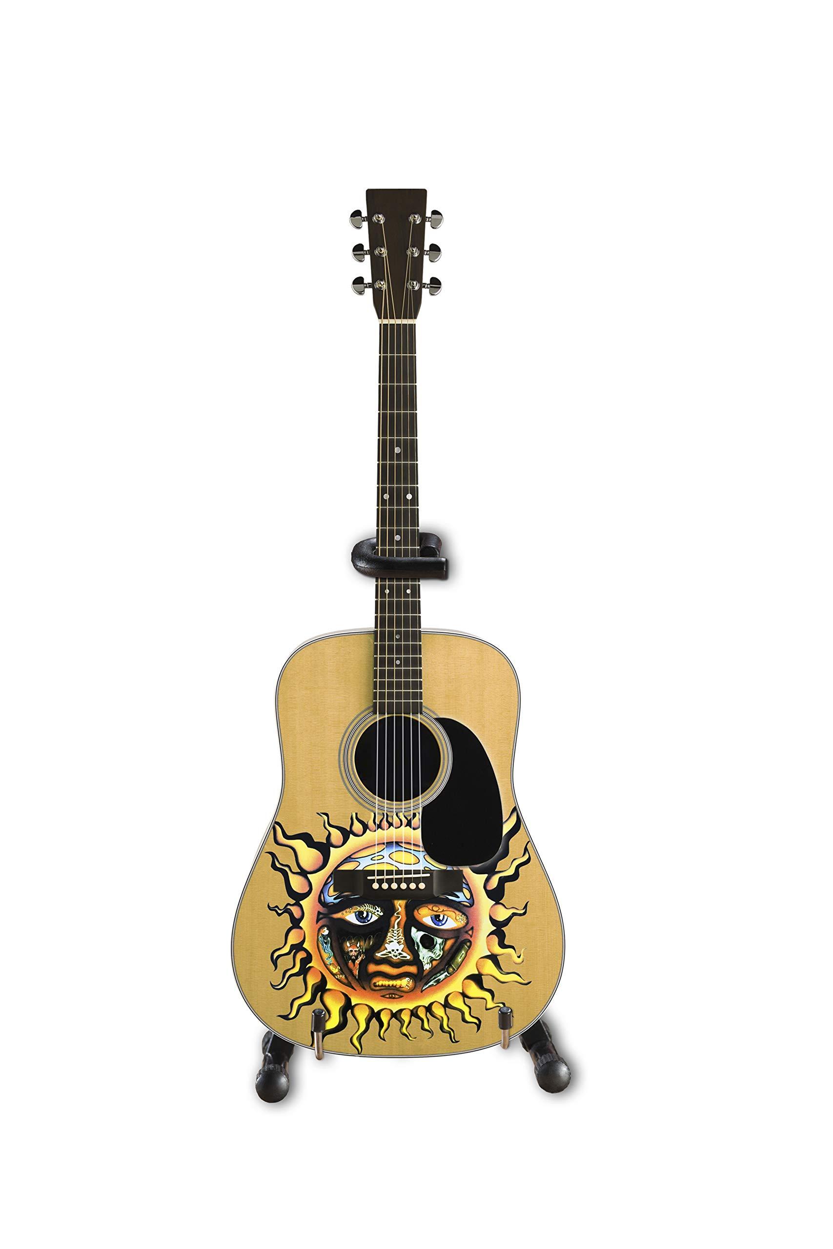 Sublime - Mini guitarra acústica con logotipo de sol grande con ...