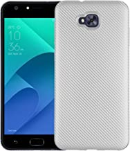 Case for Asus ZenFone Live Plus X00LDA X00LDB / ZenFone 4 Selfie ZB553KL Case TPU Silicone Soft Shell Cover Silver RK-Asus ZenFone Live Plus-Silver