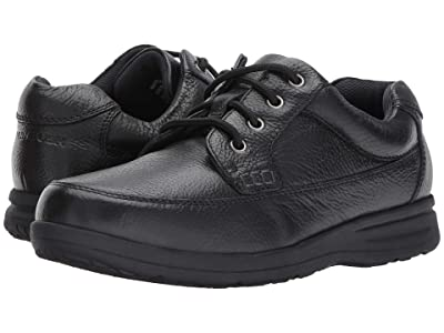 Nunn Bush Cam Oxford Casual Walking Shoe (Black Tumbled Leather) Men