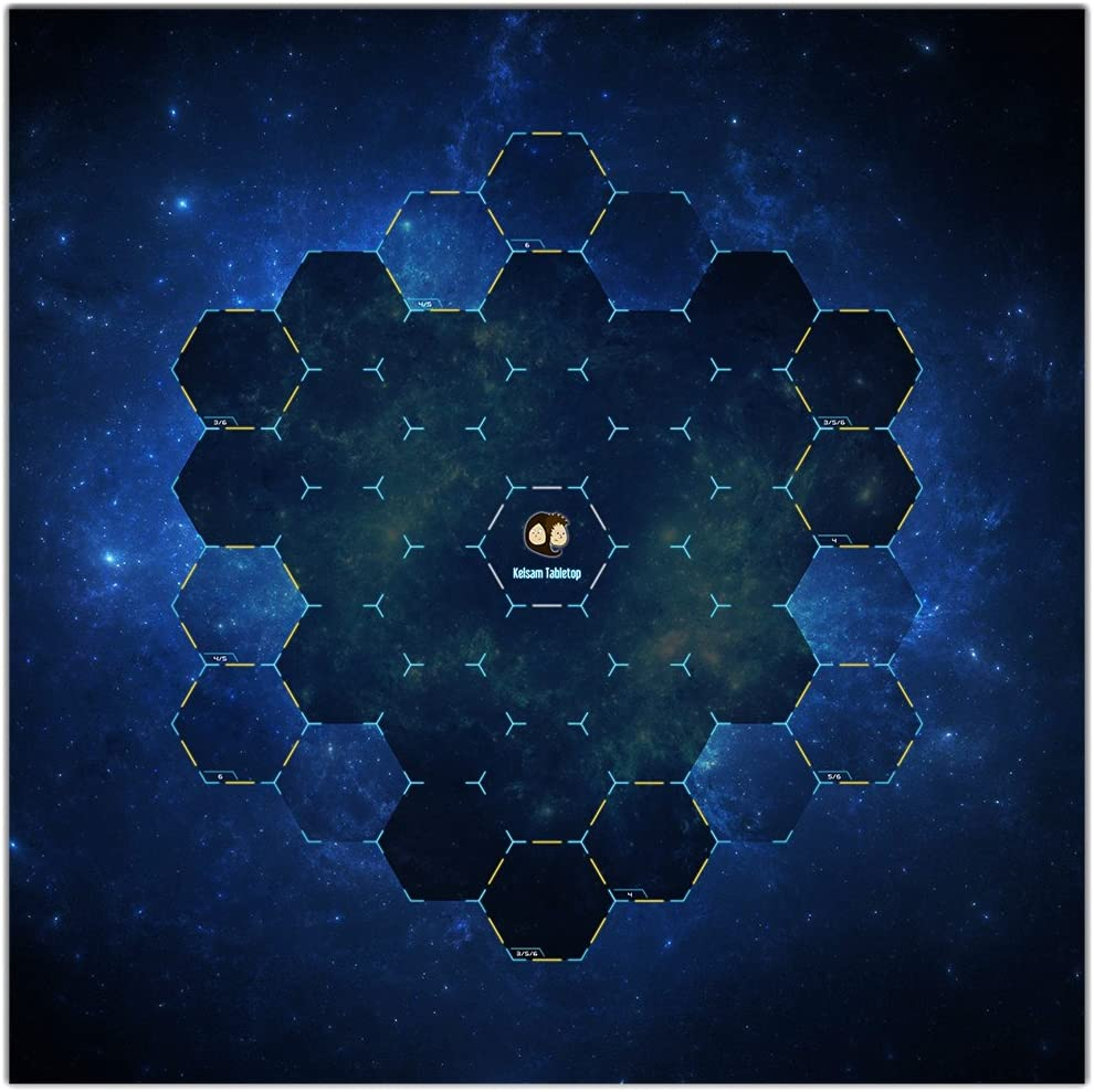 Hex Galaxy Wargaming Fresno Mall – 36x36 13+ Tabletop New product! New type Mat Inch