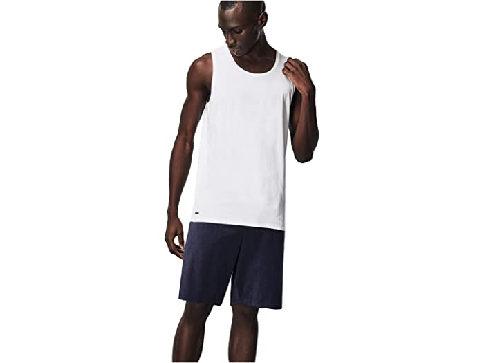 Lacoste 3-pack Sleeveless Slim Essential T-shirt White Shirts & Tops