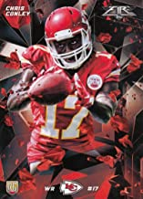 Football NFL 2015 Topps Fire Rookies Onyx #13 Chris Conley #13 NM+ RC Rookie Chiefs
