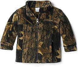 camo columbia fleece jacket