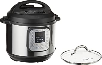 Instant Pot Duo 7-in-1 Electric Pressure Cooker, Tempered Glass Lid