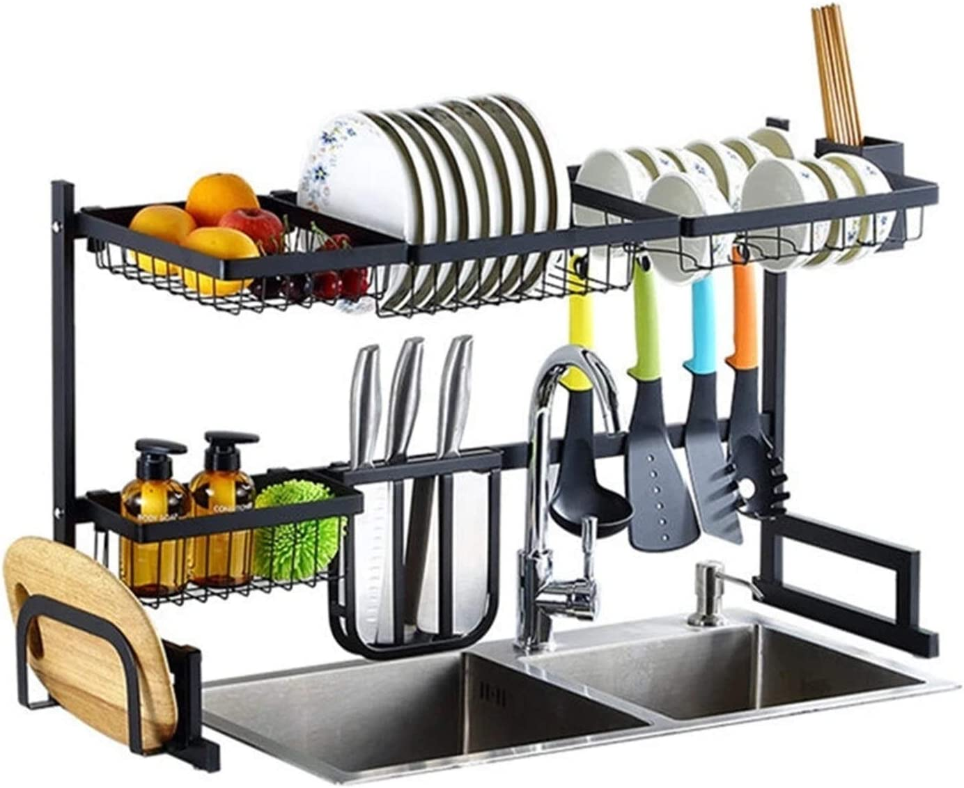 Dish Drying Rack Latest item Sink Storage Over Dis 65 Ranking TOP1 Kitchen 85CM