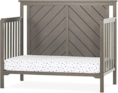 Forever Eclectic Hampton Flat-Top 4-in-1 Convertible Baby Crib