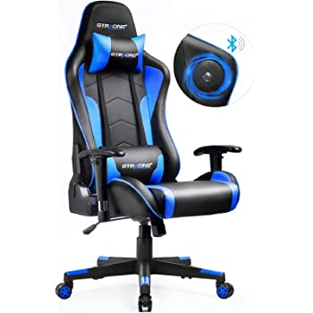 Amazon.com: Gtracing Gaming Chair with Bluetooth Speakers Music