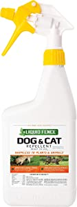 Liquid Fence Dog & Cat Repellent Ready-to-Use, 32-Ounce, MULTI, Quart - 100047372