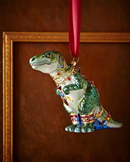JAY STRONGWATER T-Rex Christmas Ornament