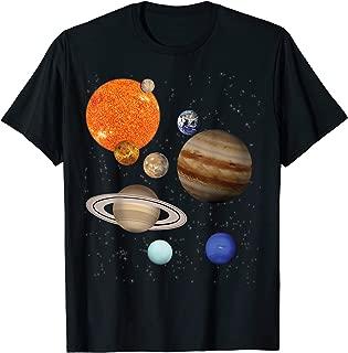 Solar System Outer Space Explorer Astronaut Camp T-Shirt