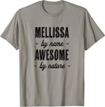 MELLISSA by Name - Awesome by Nature | Funny and Cute Gift