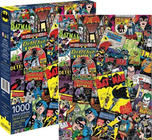 Batman Detektiv Comics Kollage 1000 Stück Puzzle (nm)