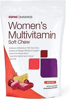 GNC Bariatrics Womens Multivitamin, Mixed Berry, 90 Soft Chews