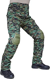 Tactical Ripstop Military Trousers Cargo Pants with Knee Pads