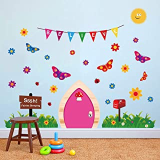 fairy door wall sticker
