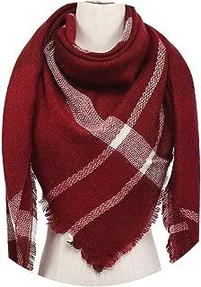 NEW Brand Women Scarf Fashion Plaid Soft Cashmere Scarves Shawl Lady Wraps Designer Triangle Warm Wholesa