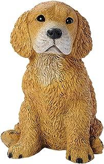 Design Toscano Golden Retriever Puppy Dog Statue, Multicolored