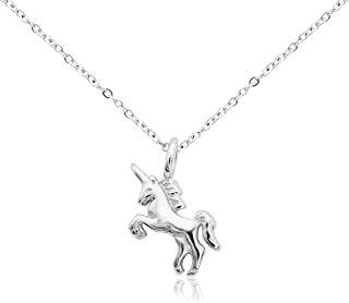Best silver unicorn pendant Reviews
