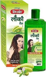 Him Herbal Ayurvedic Lauki Hair Oil / Dudhi Bottle Gourd Hair Oil | Goodness of Coconut Hair Oil, Dudhi Extract & Blend of...