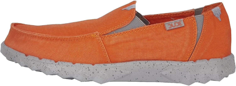 Dude shoes Hey Men's Farty Washed orange Slip On Mule