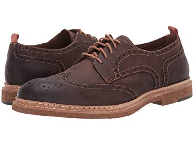 J&M EST. 1850 Pearce Wingtip (Brown) Men