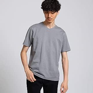 (タケオキクチ) TAKEO KIKUCHI メランジドットカノコ Vネック Tシャツ 07037013