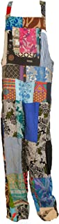 Fair Trade Patchwork Dungarees with Real Patches by Terrapin