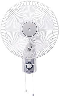 山善 30cm壁掛扇風機 (引きひもスイッチ)(風量3段階) ホワイト YWS-J304(W)