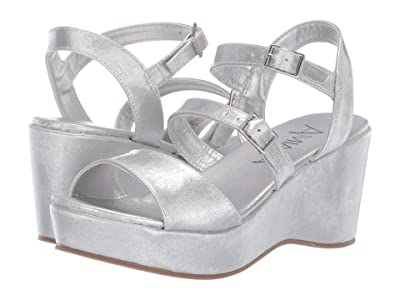 Amiana 15-A5520 (Little Kid/Big Kid/Adult) (Silver Patent) Girl
