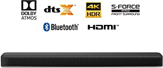 Sony HT-X8500 2.1ch 4K HDR Soundbar with Dolby Atmos and Built-in Powerful Subwoofer, Simulated 7.1.2 Surround Sound, Slim and Elegant