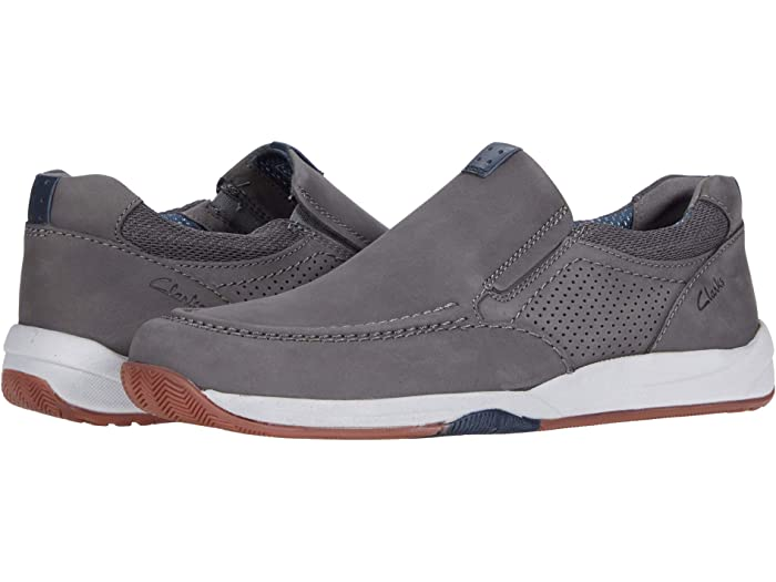 Clarks Langton Step 26156334 Mens Brown Nubuck Lifestyle Sneakers Shoes 8