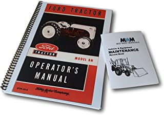 Ford 8N Tractor Owners Operators Service Manual 1947-1952 New Print Bundle