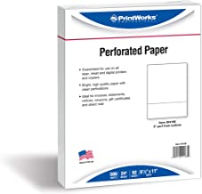 PrintWorks Professional Perforated Paper, 500 Sheets, 3