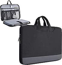 11.6-12.9 Inch Laptop Tablet Sleeve Bag with Handle for 11.6 Samsung Chromebook 3/Lenovo Chromebook C330/Acer Chromebook R11/Asus Chromebook Vivobook/Dell XPS 13 9370 9380, HP Chromebook 12.3(Black)